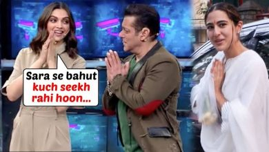 Photo of Deepika learns greeting style from Sara