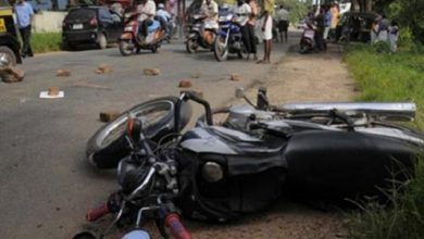 Bike Accident At Nagpur