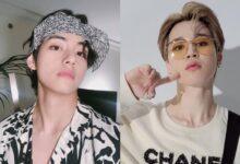 BTS members V and Jimin