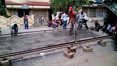 Photo of NMC road construction of Borgaon-Awasthi Chowk route on hold it remain close Nov 29 to March 9