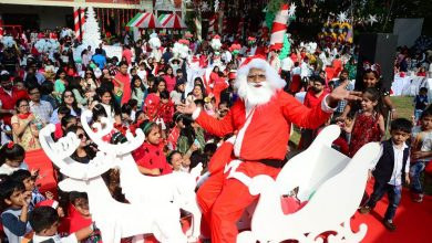 Photo of City Celebrated Christmas with Great Fervour
