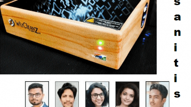 Photo of City Engineering Student & her Group Invent e-Sanitizer, first in the world