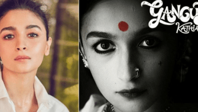 Photo of The new look of Alia Bhatt is amusing for Gangubai Kathiawadi