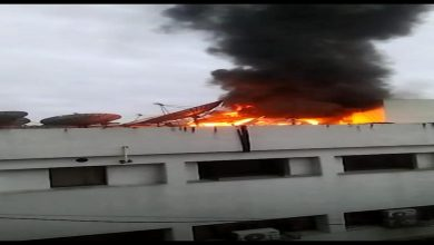 Photo of Fire at UCN Channel Head Office Nagpur