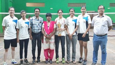 Photo of City College Hislop Women Bags Title in Badminton