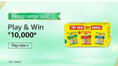 maggi range quiz amazon
