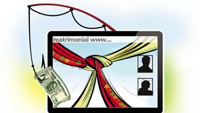 Photo of Man met on a matrimonial site turns out to be a fraud
