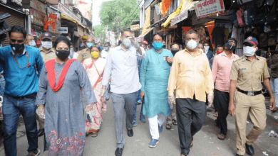 Photo of City Mayor Starts his Market Visit in Nagpur