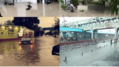 Photo of Heavy Rains in the CIty Hampers Normal LIfe