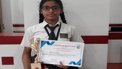 Photo of City Girl Riddhi Palorkar excels in Open Chess Tournament