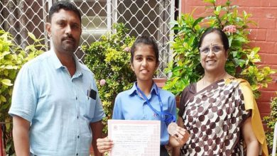 Photo of City Girl Rutvi of CPS KR Chosen for the CBSE National Athletic Meet