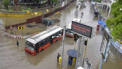 Photo of Sonegaon Area in Nagpur in bad shape with excessive rain in the city