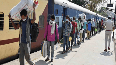 Photo of 1159 Migrant workers Left for Lucknow by Special Train on Saturday