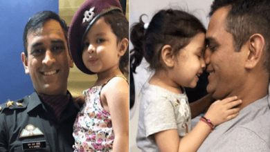 MS dhoni's daughter Ziva gets rape threat