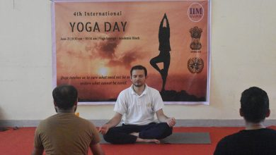Photo of International Yoga Day to Be Celebrated in City But with a Difference